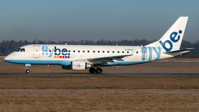 A picture of GFBJF - Embraer E175STD - Flybe - © marfi80