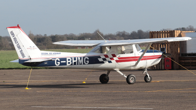 G-BHMG - Reims-Cessna FA152 Aerobat - North Weald Flight Training