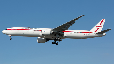 PK-GIG - Boeing 777-3U3ER - Indonesia - Government (Garuda Indonesia)