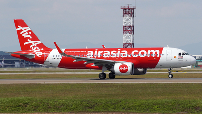 A picture of 9MAGN - Airbus A320251N - AirAsia - © Vicknesh PS