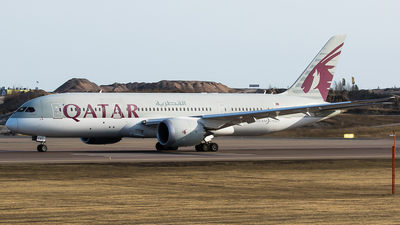 A picture of A7BCE - Boeing 7878 Dreamliner - Qatar Airways - © Teemu Pesonen