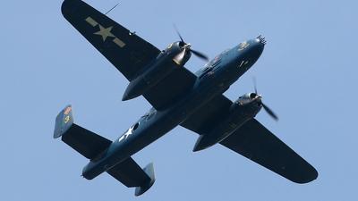 N9643C - North American B-25J Mitchell - Commemorative Air Force