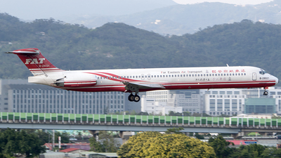 B-28021 - McDonnell Douglas MD-82 - Far Eastern Air Transport (FAT)