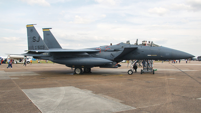 89-0503 - McDonnell Douglas F-15E Strike Eagle - United States - US Air Force (USAF)