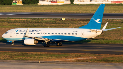 A picture of B1456 - Boeing 73785C - Xiamen Air - © AndySpotter