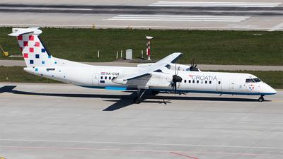 A picture of 9ACQF - De Havilland Canada Dash 8400 - Croatia Airlines - © Melanie Niedermeier