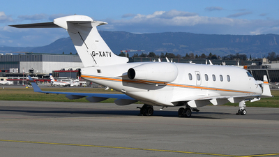 G-XATV - Bombardier BD-100-1A10 Challenger 300 - Arena Aviation