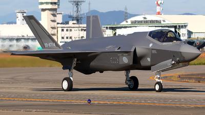 99-8714 - Lockheed Martin F-35A Lightning II - Japan - Air Self Defence Force (JASDF)