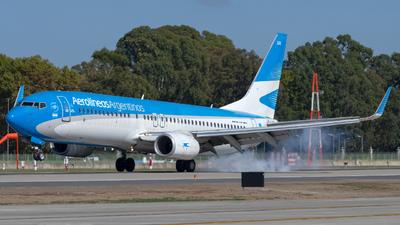 A picture of LVFUA - Boeing 7378HX - Aerolineas Argentinas - © dario_spotter