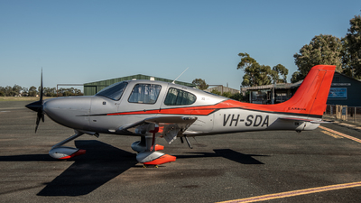 VH-SDA - Cirrus SR22-GTS G5 Carbon - Cirrus Aviation