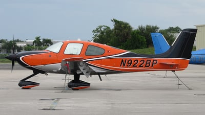 N922BP - Cirrus SR22-X - Private