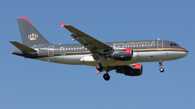A picture of JYAYY - Airbus A319112 - Royal Jordanian - © PM