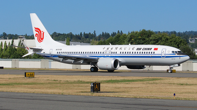 N1787B - Boeing 737-8 MAX - Air China