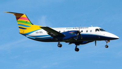 A picture of VQTEL - Embraer EMB120RT Brasilia - InterCaribbean Airways - © Jose Mendez