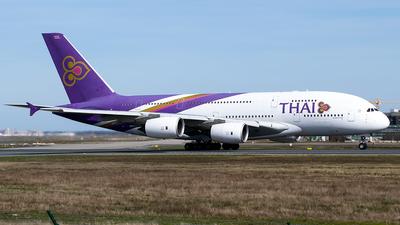 A picture of HSTUA - Airbus A380841 - Thai Airways - © Timo Duda