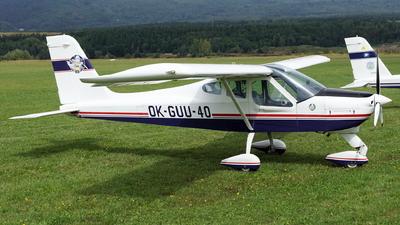 OK-GUU-40 - Tecnam P92 Echo - Aeroklub Usti nad Labem