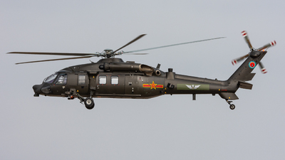 LH953201 - Harbin Z-20 - China - Army