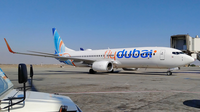 A picture of A6FEY - Boeing 7378KN - FlyDubai - © Majid-Hasankhani
