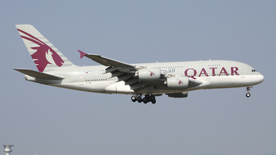 A7-APB - Airbus A380-861 - Qatar Airways