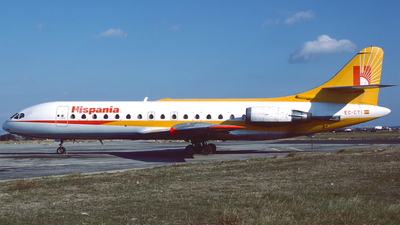 EC-CYI - Sud Aviation SE 210 Caravelle 10R - Hispania Líneas Aéreas