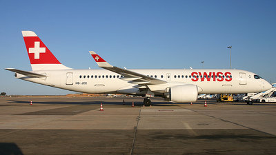 HB-JCE - Airbus A220-300 - Swiss