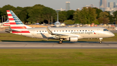 A picture of N441YX - Embraer E175LR - American Airlines - © Yan777