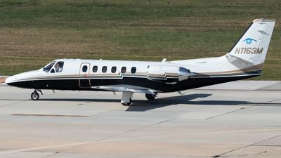 A picture of N1163M - Cessna 550 Citation Bravo - [5500568] - © Luke Ayers