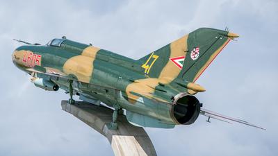 4605 - Mikoyan-Gurevich Mig-21MF Lancer A - Hungary - Air Force
