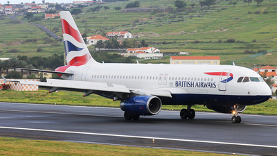 G-GATJ - Airbus A320-232 - British Airways
