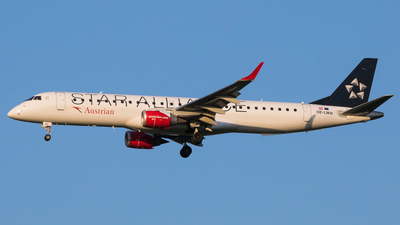 OE-LWH - Embraer 190-200LR - Austrian Airlines