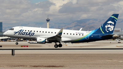 N624QX - Embraer 170-200LR - Alaska Airlines (Horizon Air)