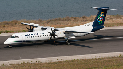 SX-BIU - Bombardier Dash 8-Q402 - Olympic Air