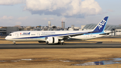 JA833A - Boeing 787-9 Dreamliner - All Nippon Airways (ANA)