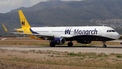G-ZBAO - Airbus A321-231 - Monarch Airlines