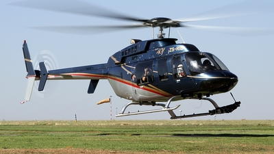ZS-RIB - Bell 407 - Private
