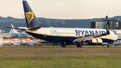 A picture of EIEGD - Boeing 7378AS - Ryanair - © X Pan