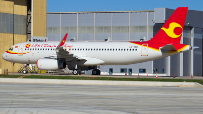 LZ-CMA - Airbus A320-214 - Tianjin Airlines