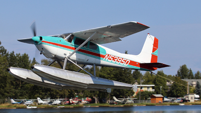 A picture of N5395D - Cessna 180 - [50295] - © Brock L