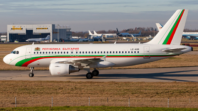 LZ-AOB - Airbus A319-111 - Bulgaria - Government