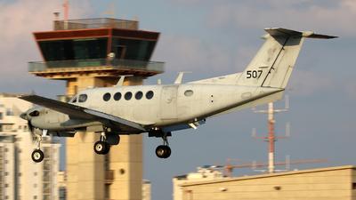 507 - Beechcraft B200 Zufit 1 - Israel - Air Force