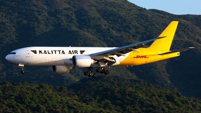 N772CK - Boeing 777-F1H - DHL (Kalitta Air)