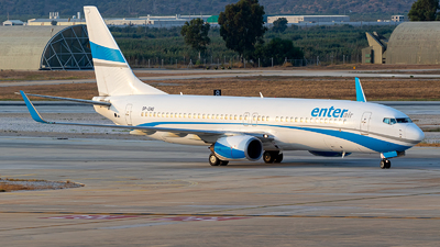 SP-ENG - Boeing 737-8CX - Enter Air