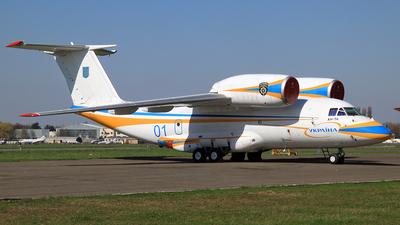 01 - Antonov An-74 - Ukraine - Government