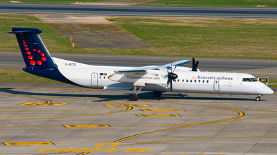 G-ECOI - Bombardier Dash 8-Q402 - Brussels Airlines (Flybe)
