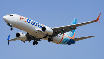 A picture of A6FGB - Boeing 7378KN - FlyDubai - © Shajie Hussain