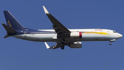 A picture of VTSYR - Boeing 7378AL - SpiceJet - © Janam Parikh