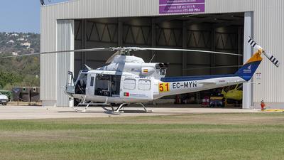 EC-MYN - Bell 412SP - Private