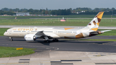 A6-BLP - Boeing 787-9 Dreamliner - Etihad Airways