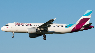 A picture of DABNU - Airbus A320214 - Eurowings - © Rosser