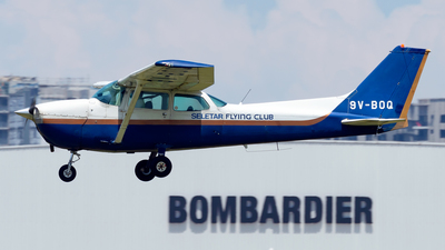 9V-BOQ - Cessna 172N Skyhawk - Seletar Flying Club